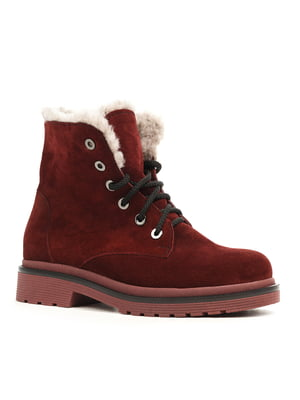 Ботинки цвета марсала | 5169496