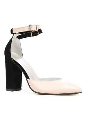 Туфли черно-розовые | 5169508