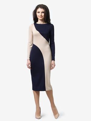 Сукня двокольорова | 5191730