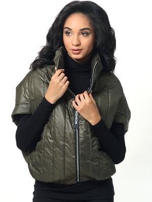 Куртка оливкового кольору | 5191738