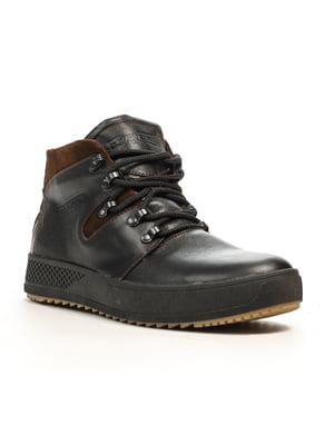 Ботинки черно-коричневые | 5179375