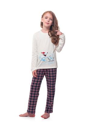 Пижама: лонгслив и брюки   5182908