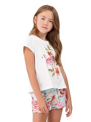 Комплект домашний: футболка и шорты   5182911