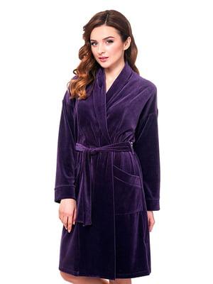 Халат фиолетовый | 5182919