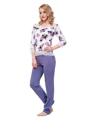 Комплект: лонгслив и брюки | 5182965