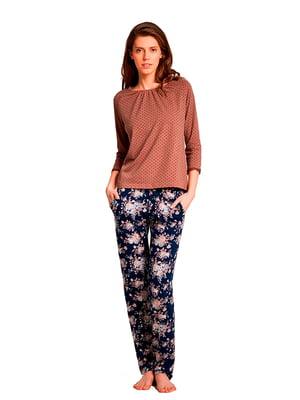 Комплект: лонгслив и брюки | 5182998