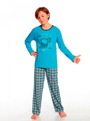 Комплект: лонгслив и брюки | 5191907