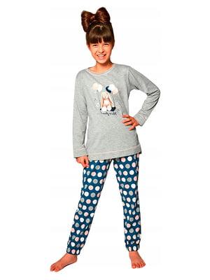 Комплект: лонгслив и брюки | 5191961