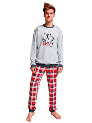 Комплект: лонгслив и брюки | 5191974