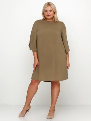 Сукня кольору хакі | 5185370