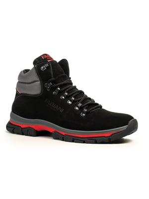 Ботинки черно-красные | 5183091