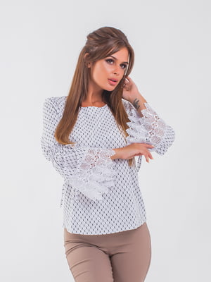 Блуза белая | 5193956