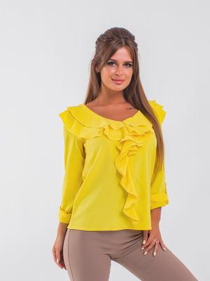 Блуза желтая | 5193958