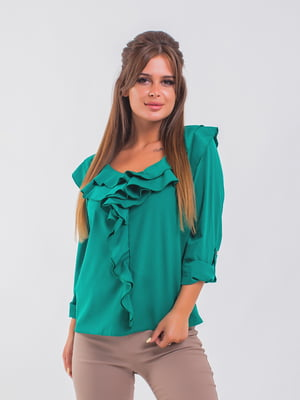 Блуза зелена | 5193960