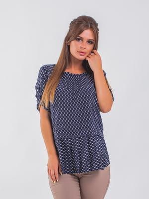 Блуза синя | 5193963