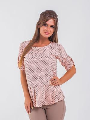 Блуза цвета пудры | 5193965