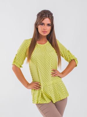 Блуза желтая | 5193967