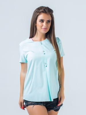 Блуза ментолового цвета | 5193969