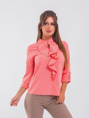 Блуза кольору пудри | 5193972
