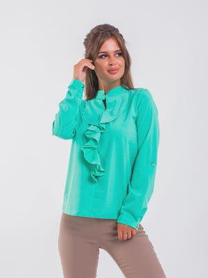 Блуза ментолового цвета | 5193975