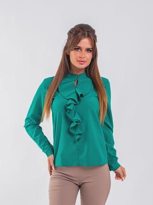 Блуза зелена | 5193976