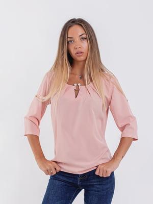 Блуза цвета пудры | 5194000