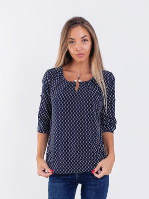 Блуза синяя | 5194002