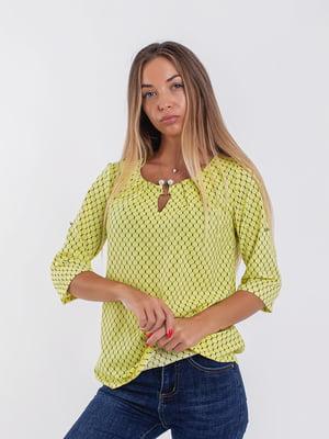 Блуза желтая | 5194005