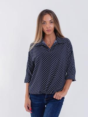 Блуза синя | 5194016