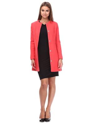 Пальто коралового кольору | 1514852