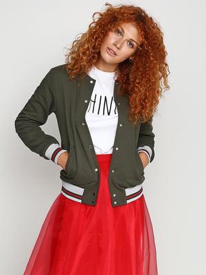 Куртка зелена | 5194173