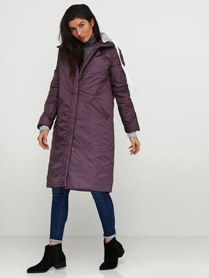 Куртка темно-фіолетова | 5194176