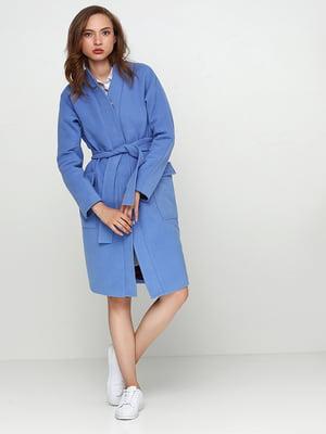 Пальто синє | 5194180
