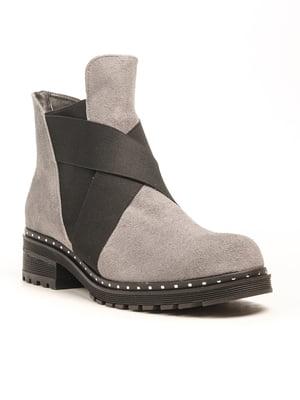 Ботинки серые | 5169309