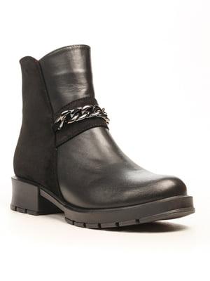 Ботинки черные | 5169302