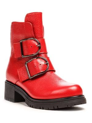 Ботинки красные | 5169336
