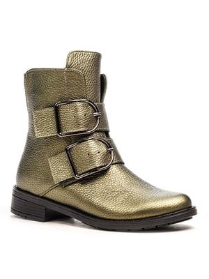 Ботинки зеленые | 5169337