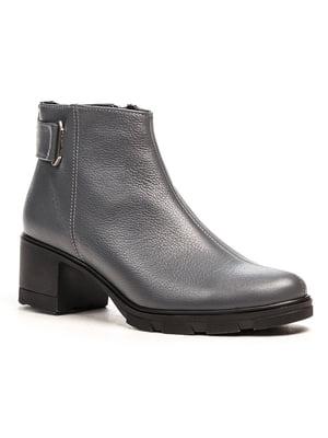 Ботинки серые | 5169340