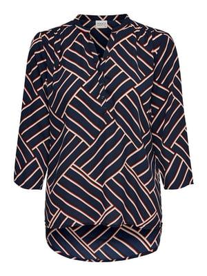 Блуза темно-синяя | 5177502