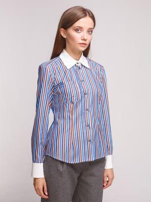 Блуза трехцветная | 5179134