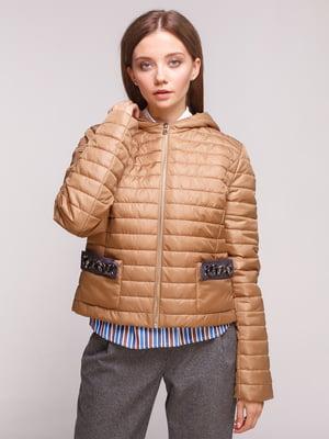 Куртка карамельного цвета | 5168217