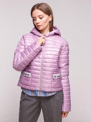Куртка сиреневая | 5168219