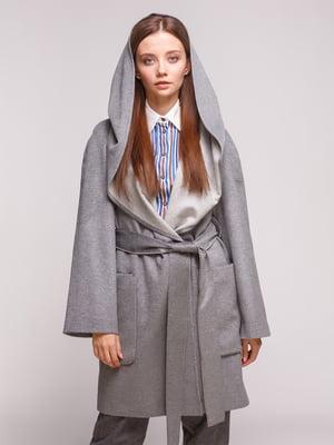 Пальто серое | 5184205