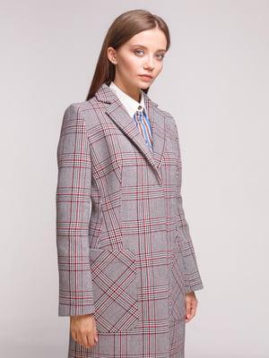 Пальто трехцветное | 5179138