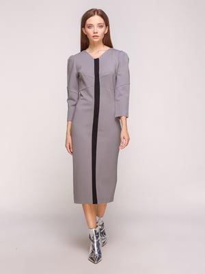 Сукня сіро-чорна | 5168228