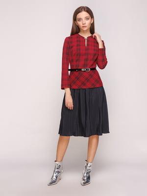 Сукня чорно-бордова | 5168222