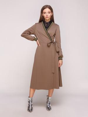 Сукня кавового кольору | 5153908