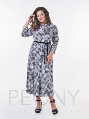 Платье в принт | 4388699