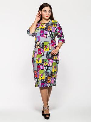 Сукня різнокольорова | 5196058