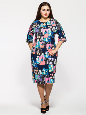 Сукня різнокольорова | 5196059